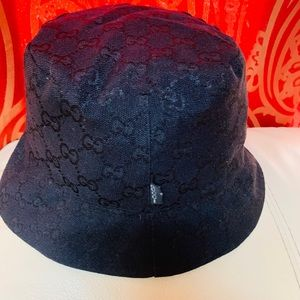 Authentic Gucci bucket hat